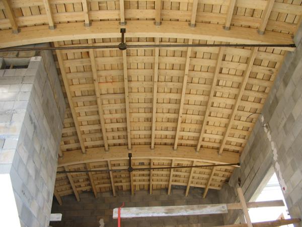 Pole multiservices à Chaussin (39) - Travaux de charpente