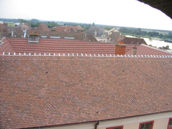 Immeuble St-Jean-de-Losne (21) - Réfection et restauration de la couverture en tuiles plates