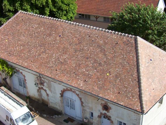 Maison d'enfance de Jouhe (39) - Réfection des toitures