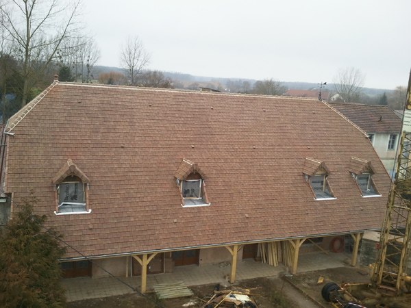 Pavillon à Vielverge (21) - Reconstruction après incendie