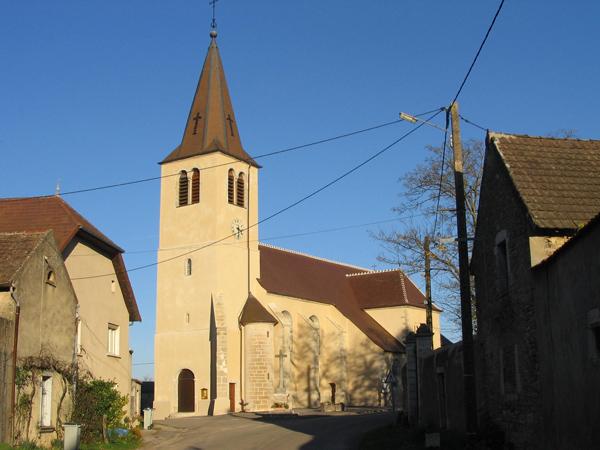 Eglise Brans (39) - Réfection des façades et toiture