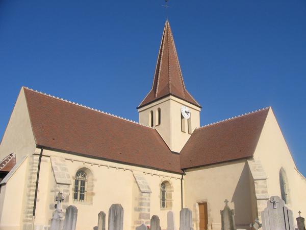 Eglise Corberon (21) - Réfection de la toiture et clocher