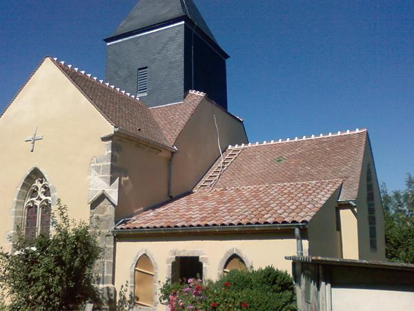 Eglise Lacour-Darcenay (21) - Restauration des façades et toitures