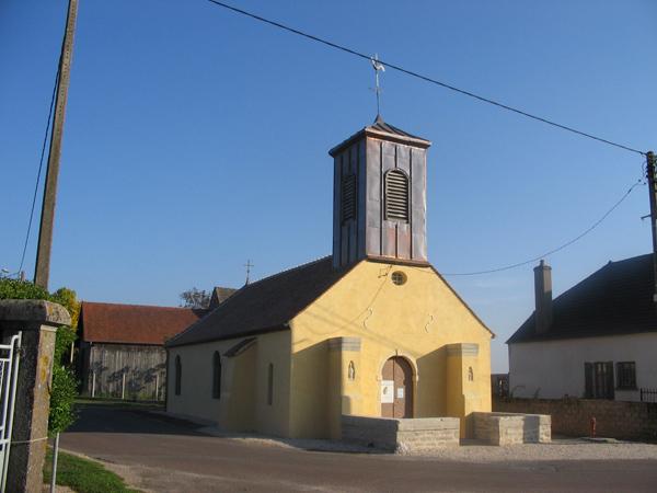 Eglise Lechatelet (21) - Restauration des façades et toitures de l'&eacuteglise et du clocher en cuivre