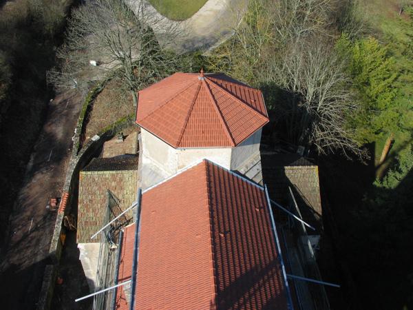 Eglise L'étang-Vergy (21) - Restauration de la toiture