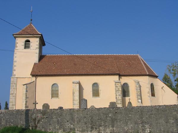 Eglise Lombart (39) - Réfection des façades et toitures
