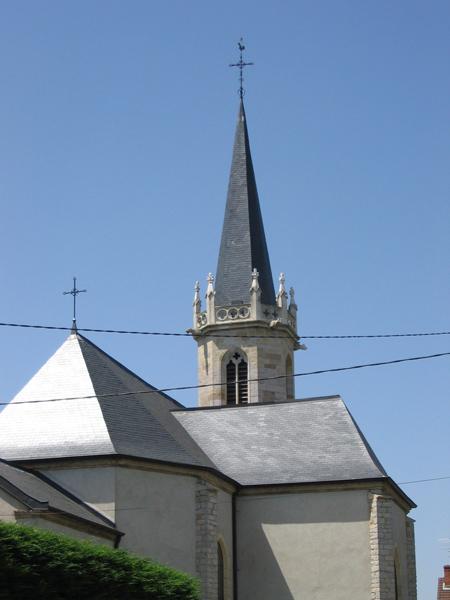 Eglise Magny-Montarlot (21) - Rénovation de la toiture et du clocher