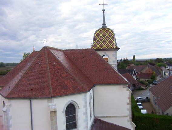 Eglise Peseux (39) - Réfection de la toiture et du clocher