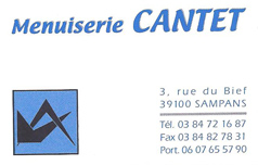 Menuiserie Cantet
